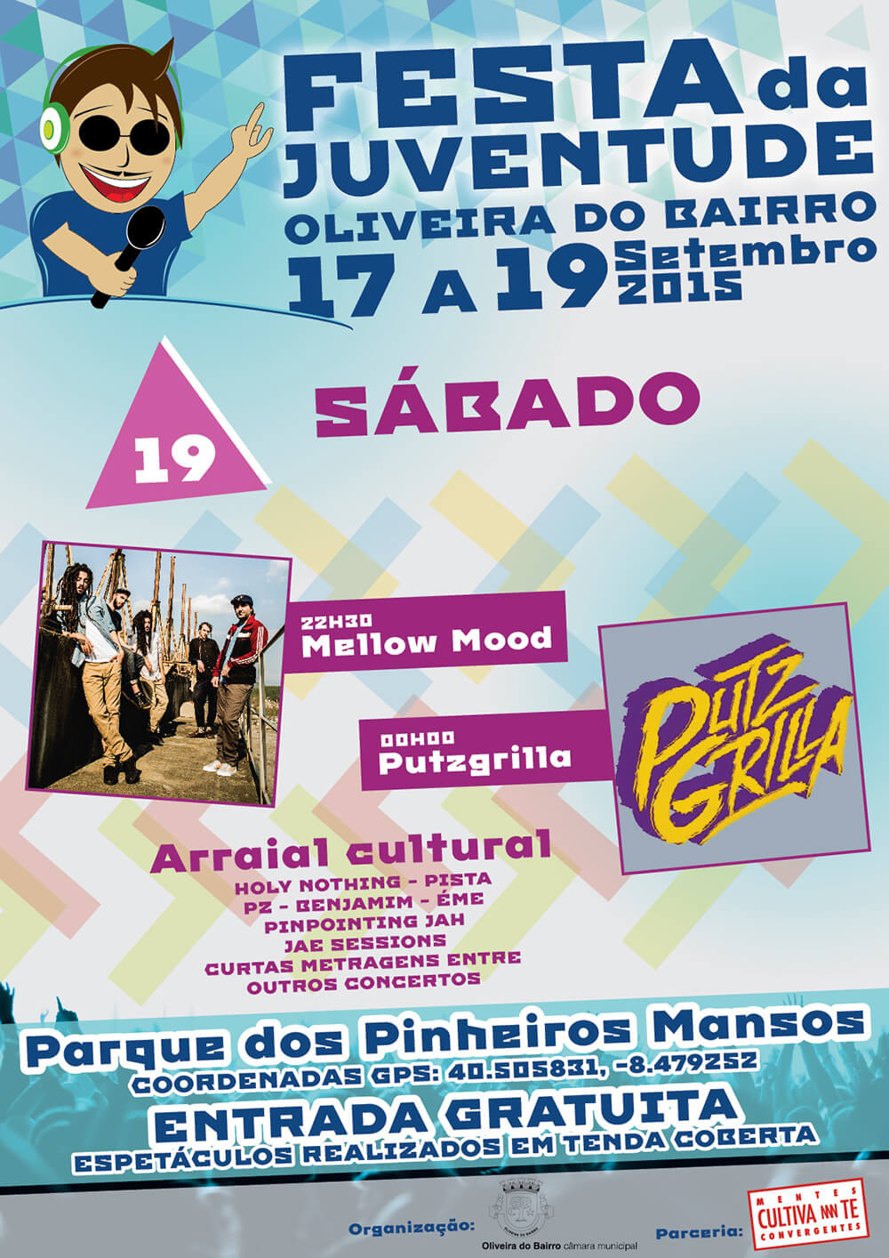 Festa da Juventude de Oliveira do Bairro - Poster for the 19th day | Way2Start - Design & Digital Agency