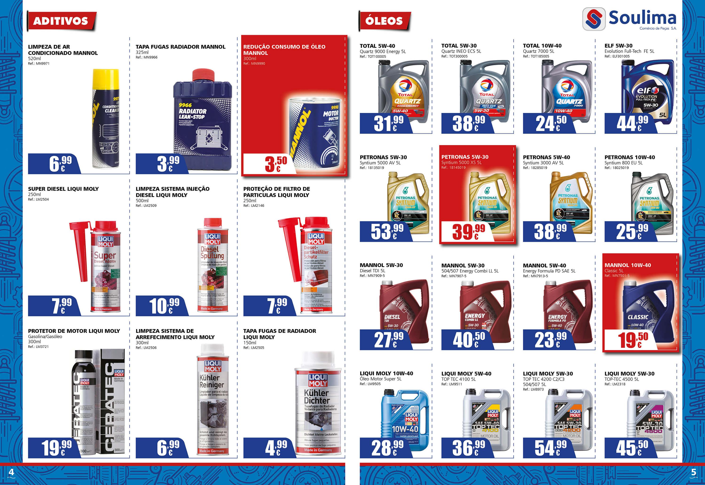 Soulima - Comércio de Peças - Brochure Design Soulima - Interior pages | Way2Start - Design & Digital Agency