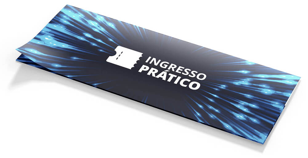 Ingresso Prático - Front Mockup | Way2Start - Design & Digital Agency