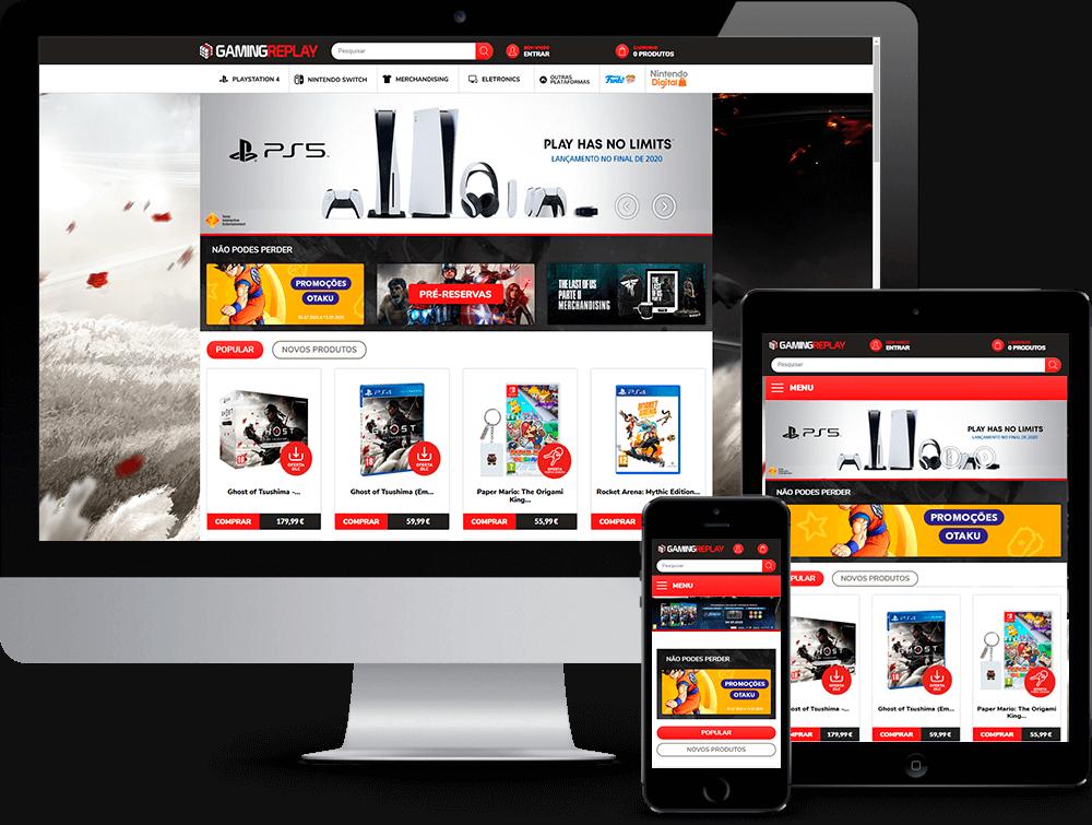 GamingReplay -  | Way2Start - Design & Digital Agency